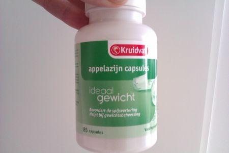 afvallen appelazijn capsules ervaringen
